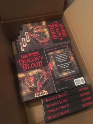 My first horror novel has arrived!